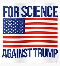 For Science Against Trump Poster