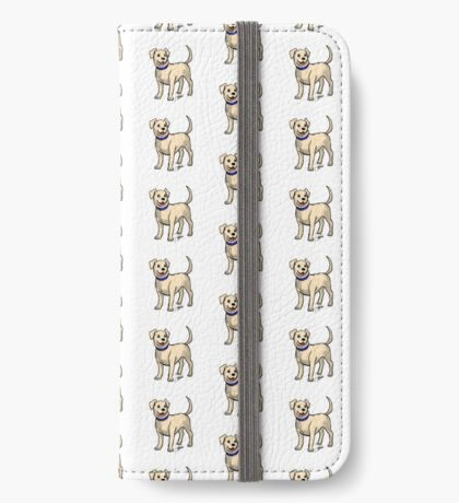 Yellow Lab iPhone Wallet