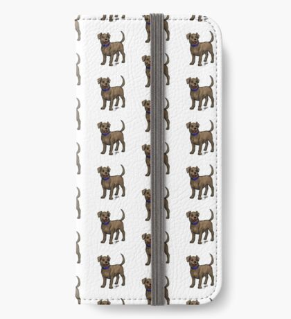 Chocolate Lab iPhone Wallet