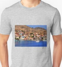 The Waterfront on Chalki T-Shirt