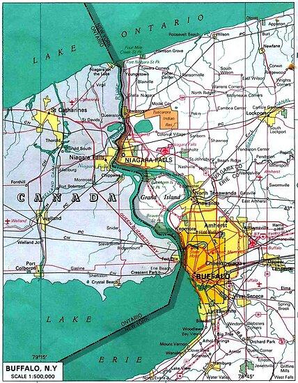 Buffalo New York Map