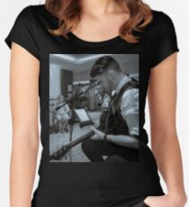 The Music Man Women's Fitted Scoop T-Shirt