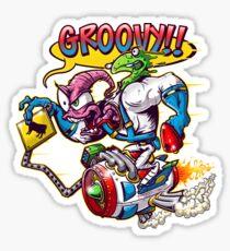 Groovy Fink Sticker