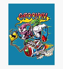 Groovy Fink Photographic Print
