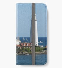 St Mary's Island - Tall Ships Regatta iPhone Wallet