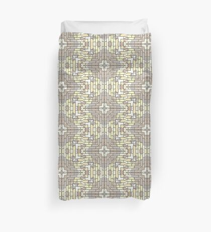 Tile Pattern by Julie Everhart Duvet Cover