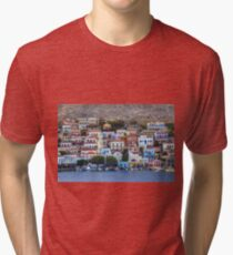 Chalki Waterfront Tri-blend T-Shirt