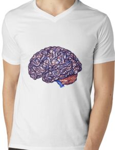 Brain Storming - Violette Mens V-Neck T-Shirt