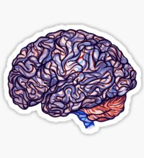 Brain Storming - Violette Sticker