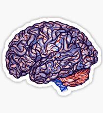 Brain Storming - Violette Sticker