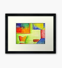 Kitschen Drugs Framed Print