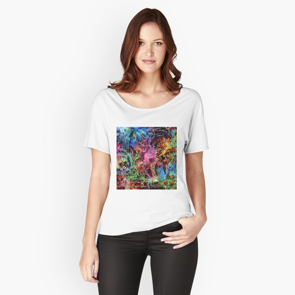 Qualia's Garden (Spring Time) Relaxed Fit T-Shirt