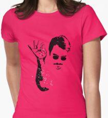 Salt Bae Womens Fitted T-Shirt