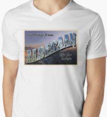 Alderaan Postcard Men's V-Neck T-Shirt