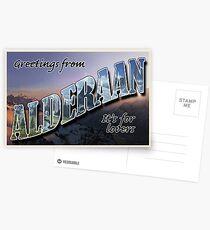 Alderaan Postcard Postcards