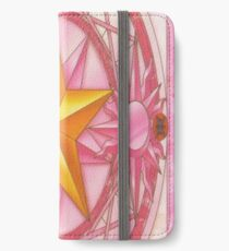 Sakura Card Design - Cardcaptor Sakura iPhone Wallet/Case/Skin