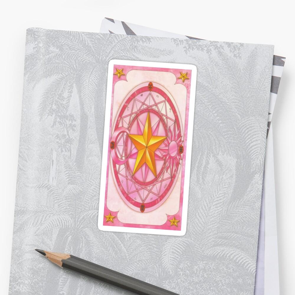 Sakura Card Design - Cardcaptor Sakura by teresartwork