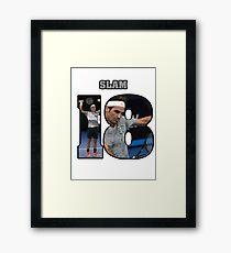 Federer 18 Framed Print