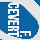 F.Cevert Helmet - Left Side Blue by EdwardDunning