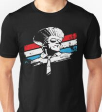 Street Fighter - GUILE - USA STRIPES Unisex T-Shirt