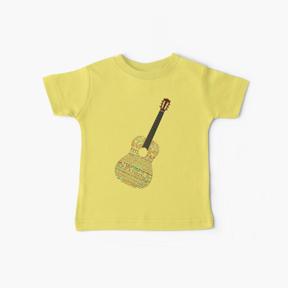 Como un Rolling Stone - Bob Dylan Camiseta para bebés