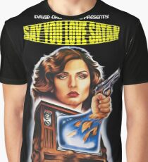 Say You Love Satan 80s Horror Podcast - Videodrome Graphic T-Shirt