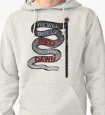 Red Queen Quote Pullover Hoodie
