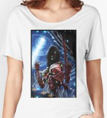 Robot Assembly Painting 001 Women's Relaxed Fit T-Shirt