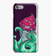 monster with tentacles iPhone Case/Skin