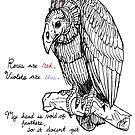 vulture valentine by HiddenStash