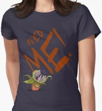 Feed Me (Talking Audrey) Womens Fitted T-Shirt