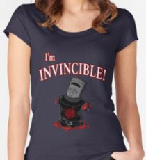 I'm INVINCIBLE! Women's Fitted Scoop T-Shirt