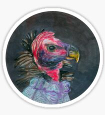 madam turkey vulture Sticker