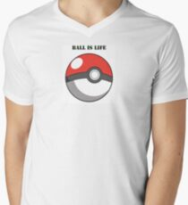 Pokemon Men's V-Neck T-Shirt
