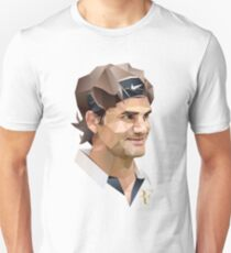 Roger Federer art Illustrator T-Shirt