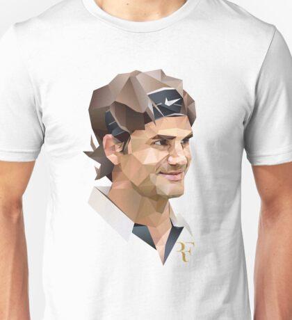 Roger Federer art Illustrator Unisex T-Shirt