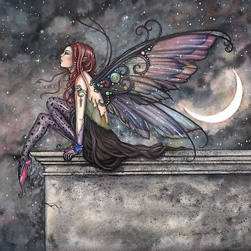 Ready for Flight Fairy Fantasy Art by Molly Harrison by robmolily