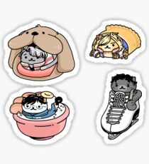 Neko Atsume on Ice: Items Set Sticker