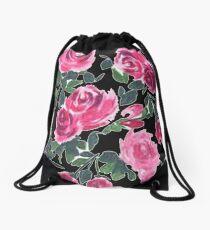 Roses Roses Roses Drawstring Bag