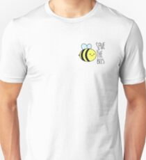 Save The Bees w/ text T-Shirt