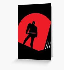 Jason Takes Gotham City Greeting Card