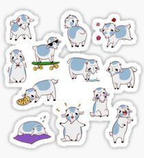 Güt the Goat Stickers Sticker