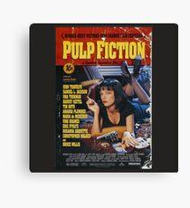 Pulp Fiction - Poster Canvas Print