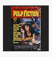 Pulp Fiction - Poster Photographic Print