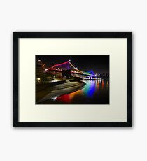 Brisbane 7 Framed Print
