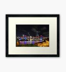 Brisbane 8 Framed Print