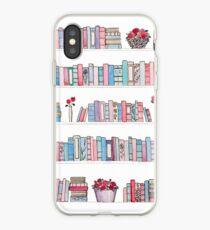 Vinilo o funda para iPhone Librería de primavera
