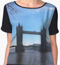 London Bridge, London UK Chiffon Top