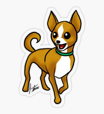 Chihuahua Transparent Sticker