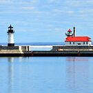 Breakwater Lighthouses by rosaliemcm